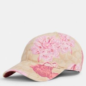 Coach Signature Hat Kaffe Fassett Print